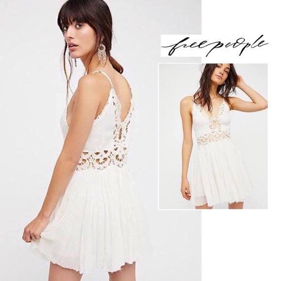 Free People Dresses & Skirts - FREE PEOPLE • one open lace dress
